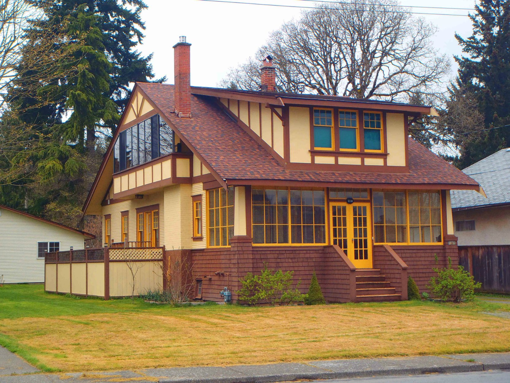 Charles W. O'Neill's house at 1087 Islay Street, Duncan, B.C., as it appears today