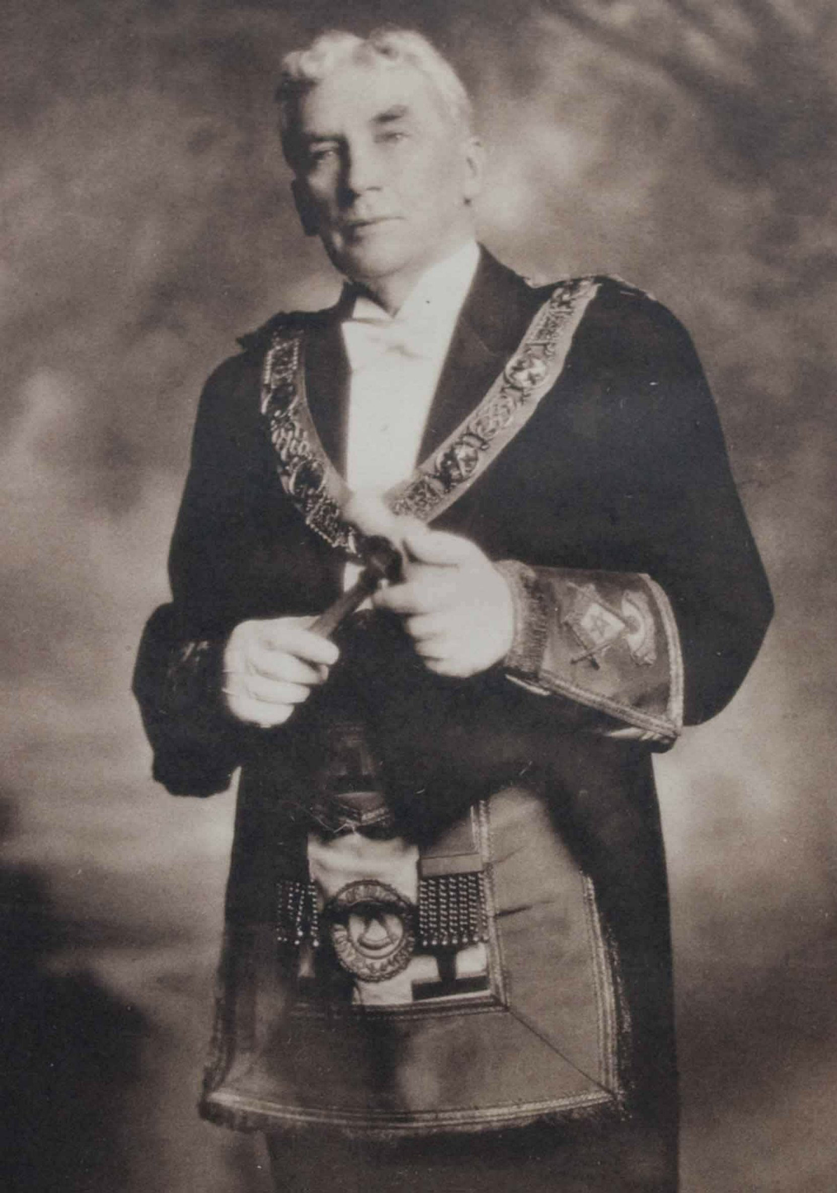 Most Worshipful Brother Donald Edward Kerr as Grand Master of B.C. & Yukon, 1930