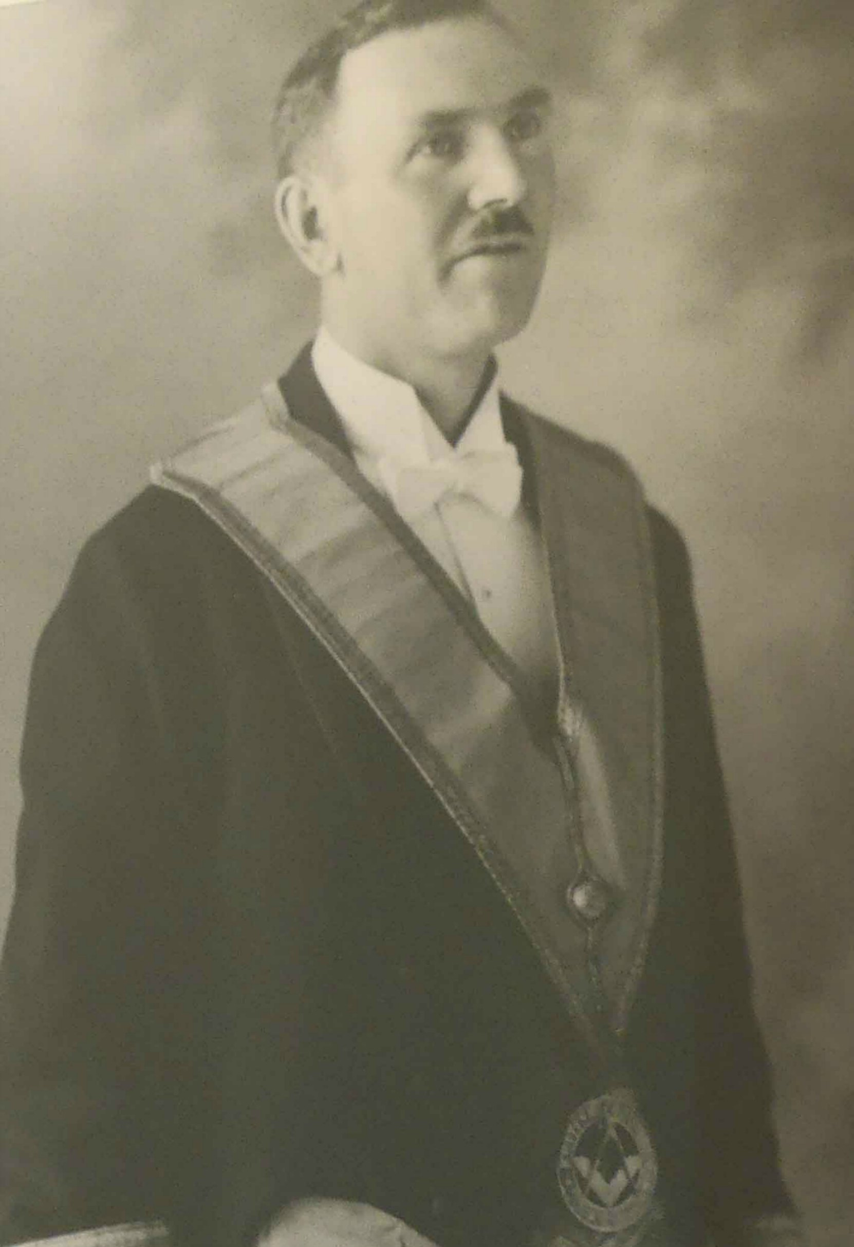 Hugh George Savage, owner and publisher of the Cowichan Leader, circa 1922