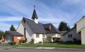 St. John's Anglican Church, Jubilee Street, Duncan, B.C. Built in 1905 by James McLeod Campbell.
